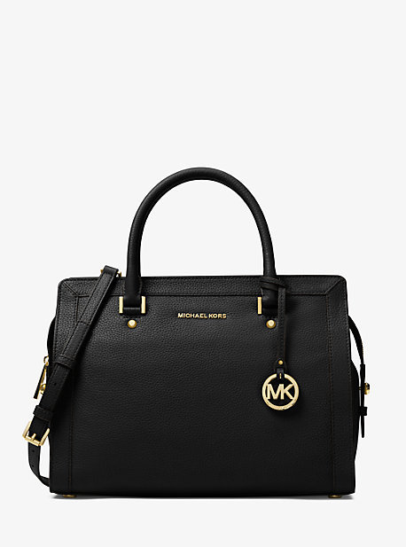 MICHAEL Michael Kors Michael Kors Collins Large Leather Satchel
