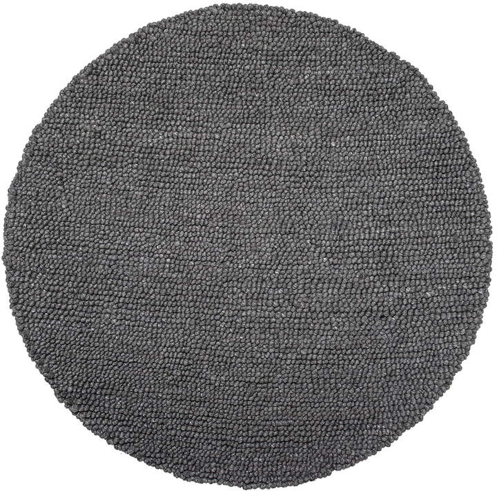 Bloomingville - Wollteppich Ø 110 cm, Grau