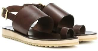 A.P.C. Rome leather sandals