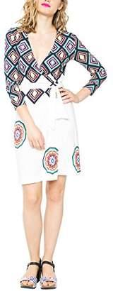 Desigual Women's Knitted Dress Short Sleeve 4