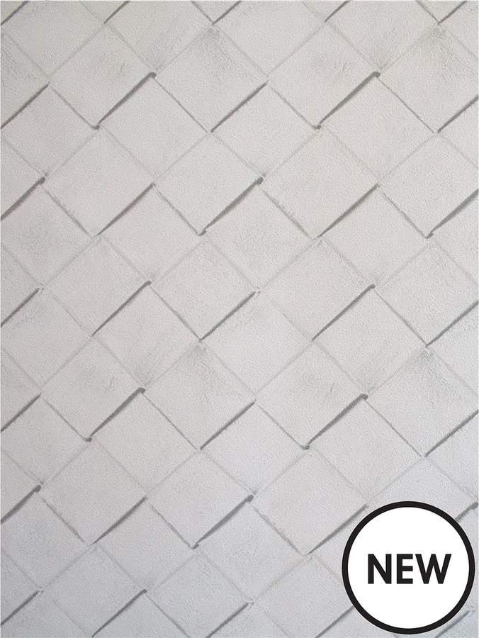 Superfresco Easy Rattan Grey Wallpaper