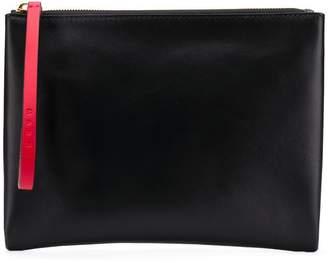 Marni colour block pouch