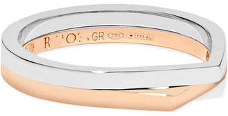 Repossi Antifer 18-karat Rose And White Gold Ring - Rose gold