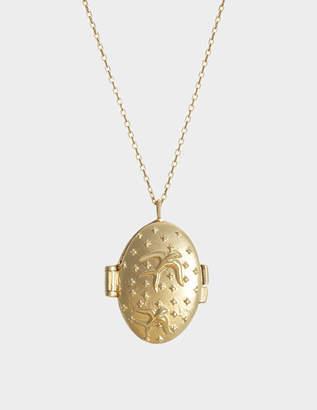 Feidt Birds Lucky Charm Necklace in 9K Gold