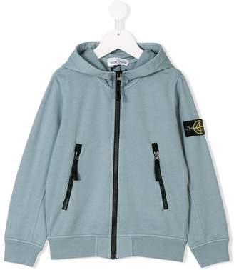 Stone Island Junior classic hooded sweatshirt