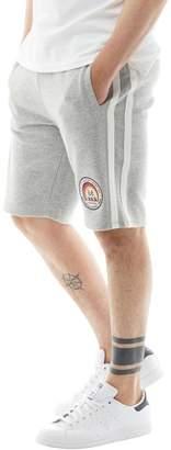 Tokyo Laundry Mens Hayden Creek Sweat Shorts Light Grey Marl