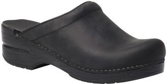 Dansko Open Back Leather Clogs - Sonja