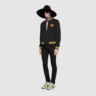 Gucci Bomber jacket with InterlockingG