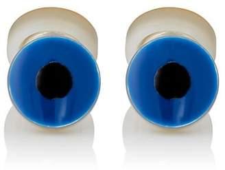 Samuel Gassmann Paris Men's Toucan Double-Sided Cufflinks - Blue