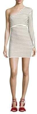 Ronny Kobo Striped Bodycon Dress