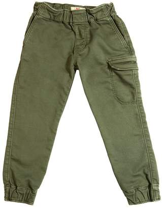 Cotton Pants W/ Cargo Pocket