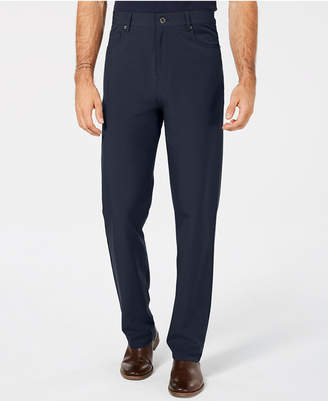 DKNY Men Slim-Fit Stretch Tech Pants