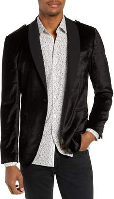 John Varvatos Shawl Collar Velvet Dinner Jacket