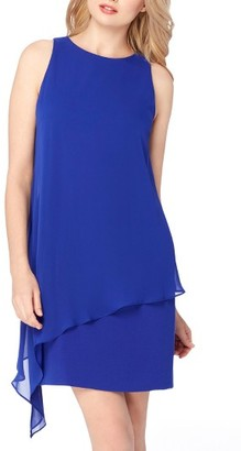 Women's Tahari Asymmetrical A-Line Dress $118 thestylecure.com