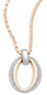 Modern Circular Pendant Necklace $129 thestylecure.com