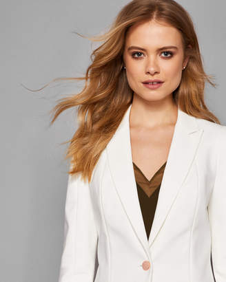 Ted Baker SAYDE Seam detail tailored blazer