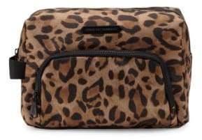 Leopard-Print Pouch