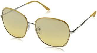 Police Sunglasses Women's S8977 Glory 3 Rectangular Sunglasses