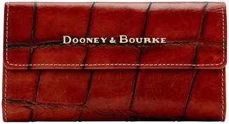Dooney & Bourke Large Croc Continental Clutch