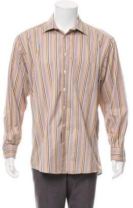 Burberry Striped Dress Shirt