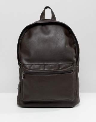 French Connection Faux Leather Backpack