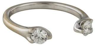 Anita Ko 18K Diamond Orbit Split Ring
