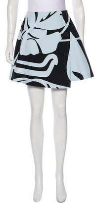 Christian Dior Printed Mini Skirt