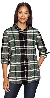 Woolrich Women's Oxbow Bend Eco Rich Boyfriend Flannel Shirt