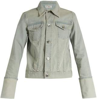Tabitha Eve Denim Denim Jacket - Womens - Light Blue