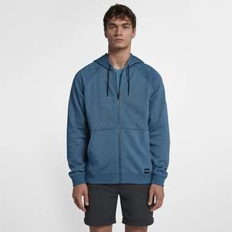 Hurley Crone Hooded Full-Zip Men's Fleece Hoodie