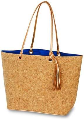 Mud Pie Cork Tote Bag $34.95 thestylecure.com