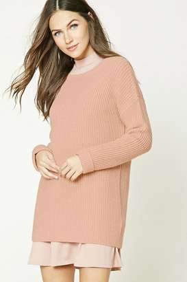 FOREVER 21+ Purl Knit Sweater $19.90 thestylecure.com