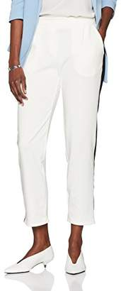 New Look Women's Pont Pull On Slim Trousers