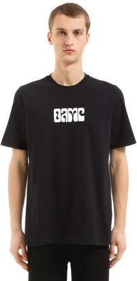 Oamc Printed Cotton Jersey T-Shirt