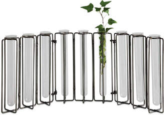 3r Studio Glass Vases in Metal Stand