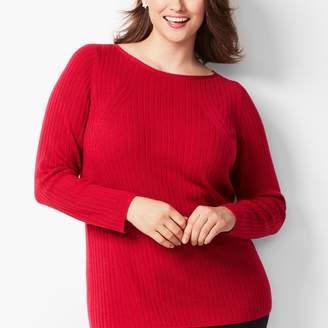 Talbots Merino Ribbed Sweater
