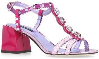 Dolce & Gabbana Embellished Keira Sandals 60