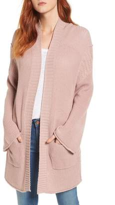 Caslon Open Cotton Cardigan