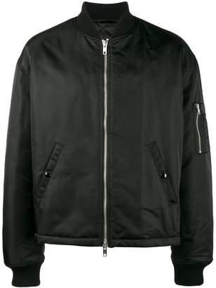 Raf Simons cropped bomber jacket