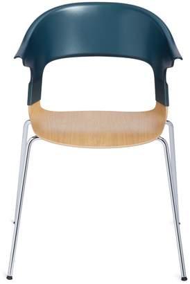 Fritz Hansen Republic of PAIRTM chair - Green/Oak