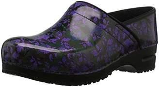 Sanita Women's Professional Fantasia Patent Leather Clog (37 M EU ( US)