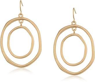 The Sak Large Metal Orbit Drop Earrings