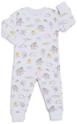 Kissy Kissy Boys' Jungle-Print 2-Piece Pajama Shirt & Pants Set - Baby