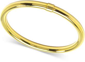 Zenzii Gold-Tone Bangle Bracelet