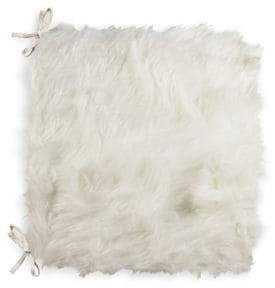 LUX FAUX FUR Laredo Faux Fur Chair Pad