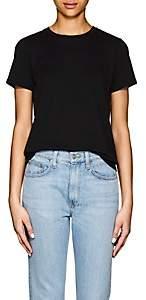 The Row Women's Wesler Cotton Short-Sleeve T-Shirt - Black