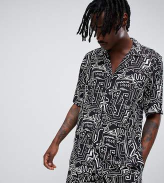 Reclaimed Vintage inspired printed shirt