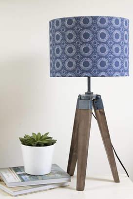 Aster Elm Tree Studio Scandi Style Flower Print Lampshade