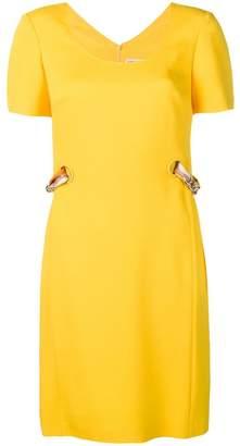 Emilio Pucci printed ribbon belt dress