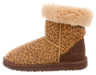 UGG Australia Classic Rosette Ankle Boots $95 thestylecure.com